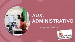La Junta cuadruplica oferta de auxiliares administrativos