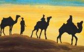 Cabalgata estática de los Reyes Magos en Ágreda