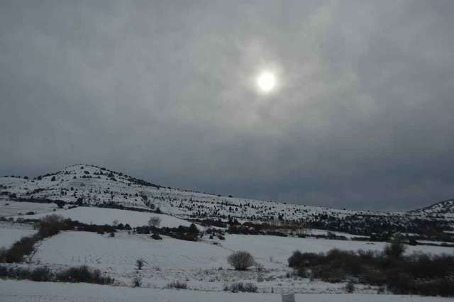 El temporal de frío polar llega a Soria - fotos