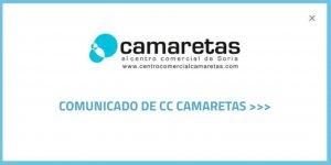 Cerradas las tiendas de C.C. Camaretas