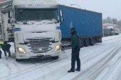Embolsamiento de camiones en la A-2