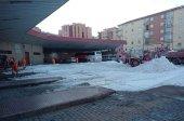 La Junta mantiene cuadrillas de limpieza de hielo