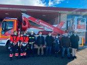 Segundo vehículo para trabajos en altura de bomberos