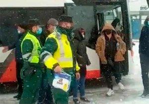 "1.250 personas auxiliadas por temporal ""Filomena"""
