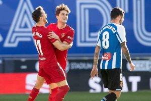 Javi Martínez marca con Osasuna en Copa