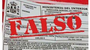 Alerta de correos fraudulentos suplantando a la DGT