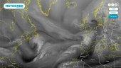 Un río atmosférico trae a Hortense y más lluvías