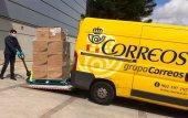 Notable incremento de paquetería en Correos