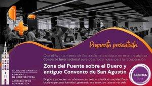 """Podemos propone rehabilitar zona del """"Puente de Piedra"""""""