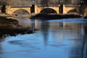 Soria: puente de piedra - fotos