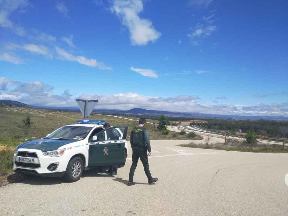 Detenidos por saltarse control con coche sustraído