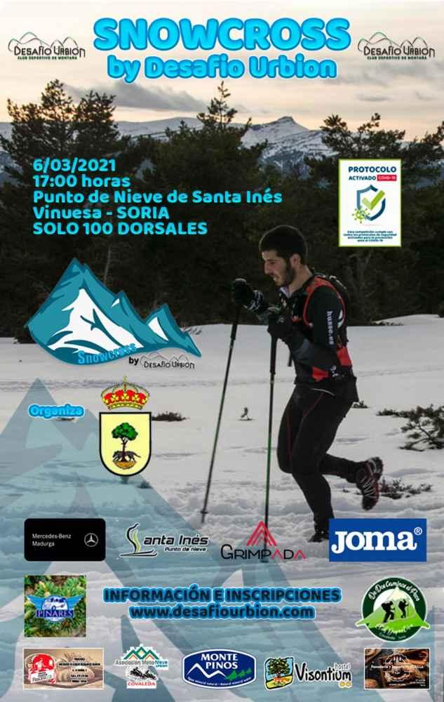 Convocado el II Snowcross by Desafío Urbión