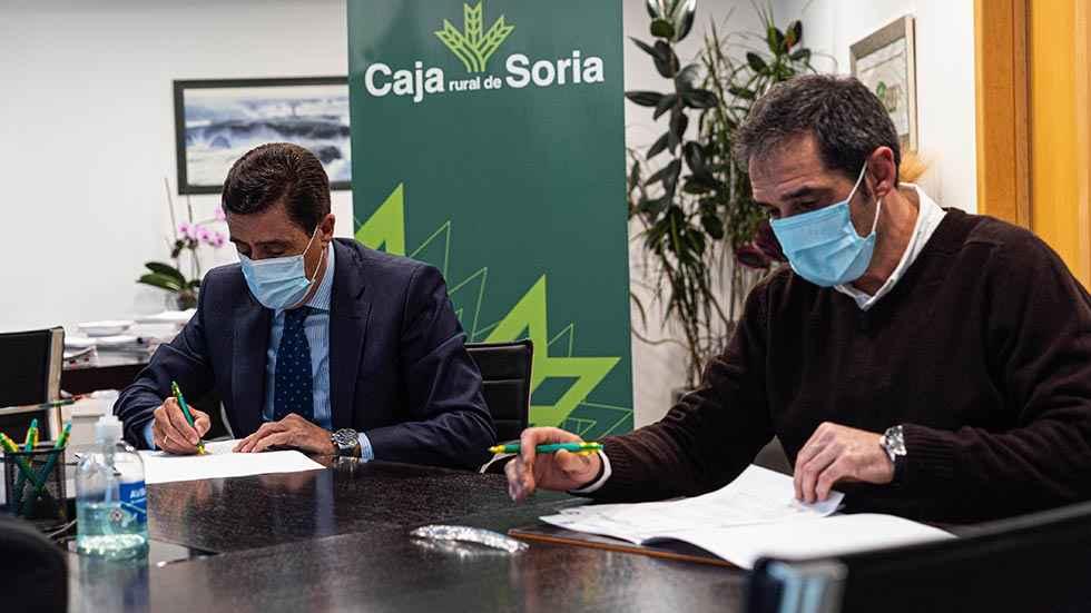 Caja Rural rubrica apoyo a C.D. Calasanz