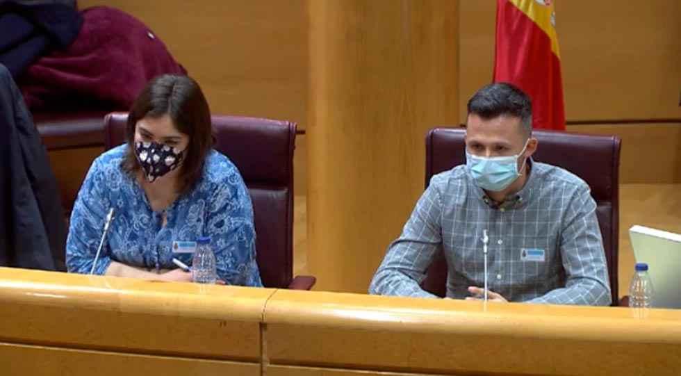 Jóvenes de Castilla y León, en el Senado