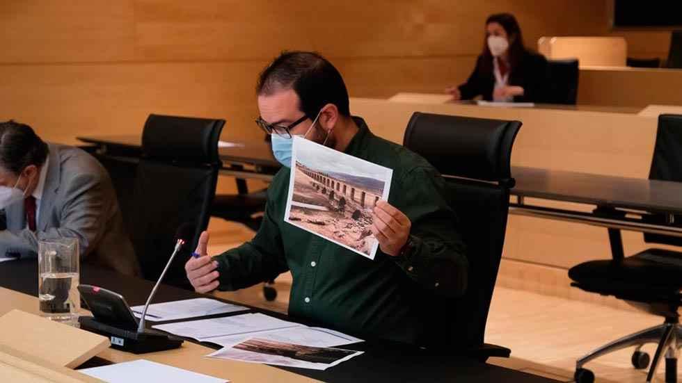 El PSOE denuncia negativa a conceder BIC a puente de Vinuesa