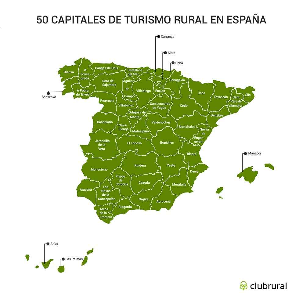 San Leonardo, entre las 50 capitales de turismo rural