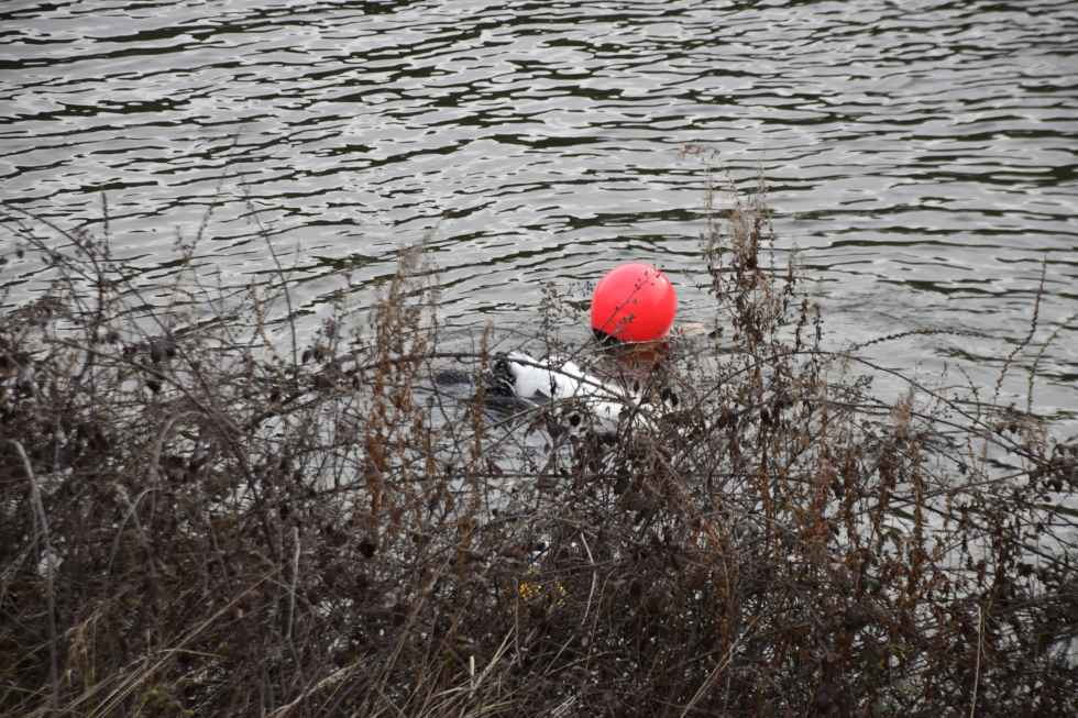 Los GEO localizan al joven ahogado en Duero