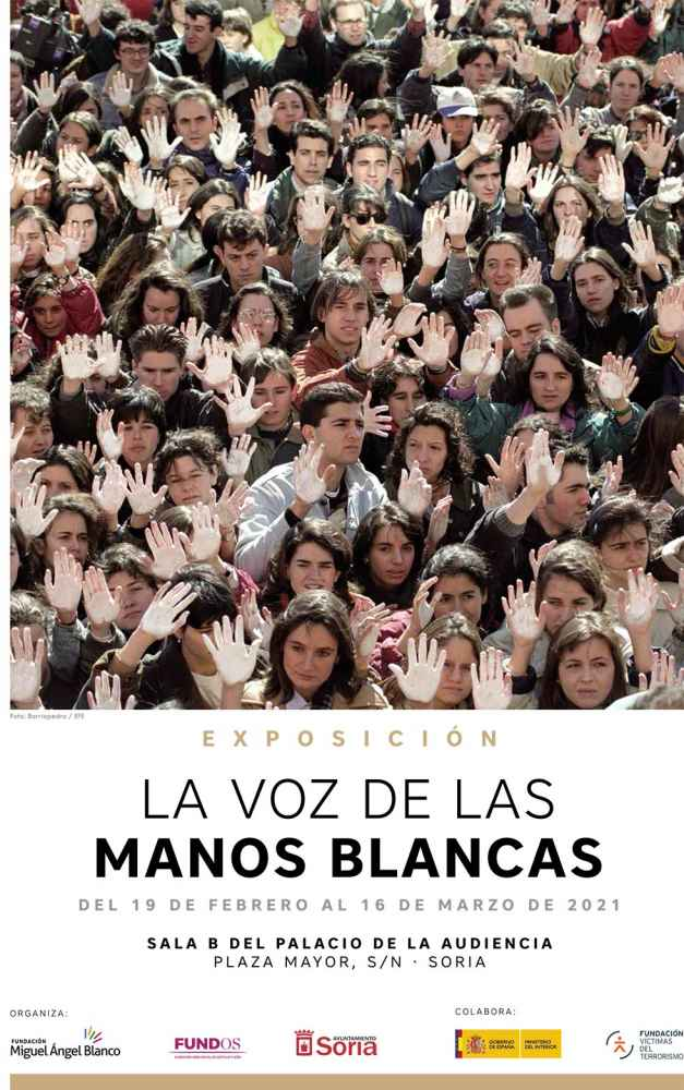 """Exposición """"La voz de las manos blancas"""""""