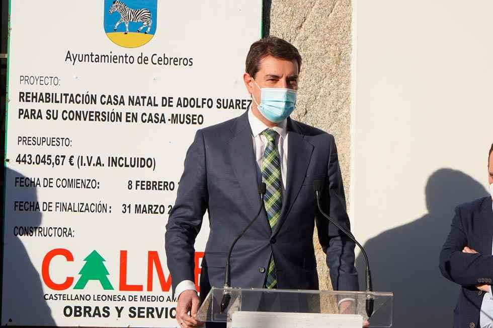 La Junta apuesta por mantener legado de Adolfo Suárez