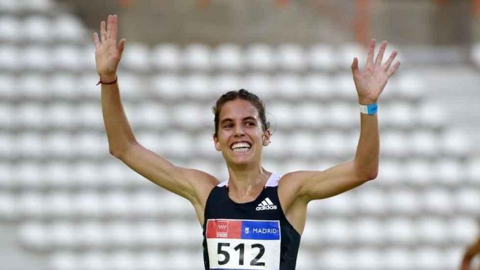 Marta Pérez, con la selección en Europeo en Pista Cubierta