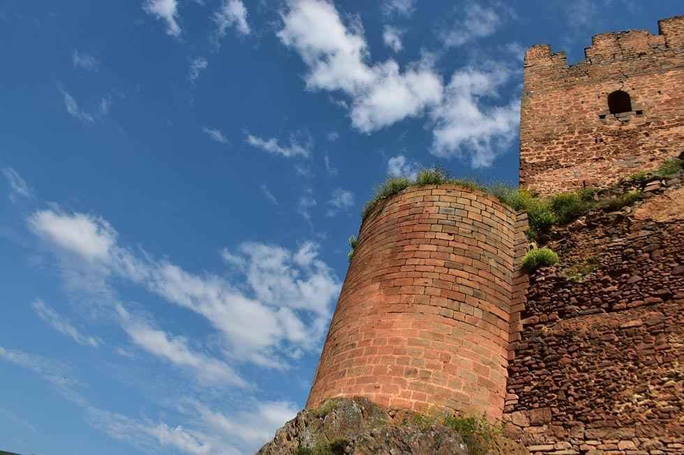 Obras de consolidación en castillo de Vozmediano