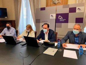 Diputación planifica oficina para ayudas y proyectos