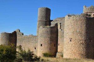 El castillo de Caracena, desde el aire