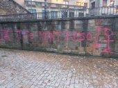 El PSOE condena amenazas en pintadas en Duruelo