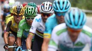 El Burgo de Osma, salida de etapa de Vuelta a España