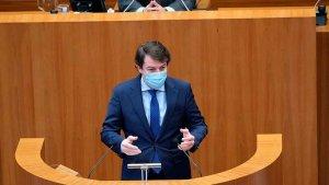 Mañueco pide liderazgo al Gobierno contra pandemia