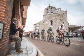 El Burgo de Osma, salida de cuarta etapa de la Vuelta 2021