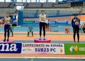 Santana, bronce en Campeonato de España Sub-23