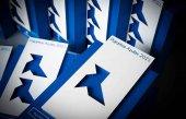 Soria, Pajarita Azul por gestión de papel