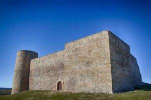 El castillo de Medinaceli, desde el cielo