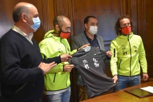 Diputación rubrica primer convenio con C.D. Triatlón Soriano