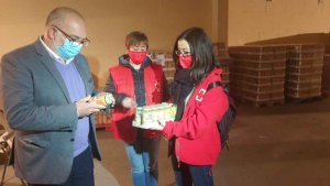 El Gobierno distribuye 150 toneladas de alimentos