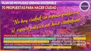 Setenta propuestas para modelo integral de ciudad