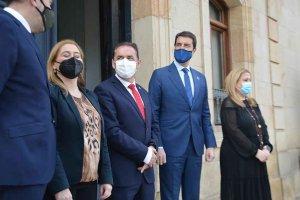 El consejero de la Presidencia, en Diputación - fotos