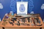Intervenidas numerosas armas en vivienda de Soria