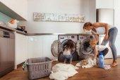 Diez errores que se cometen al poner la lavadora