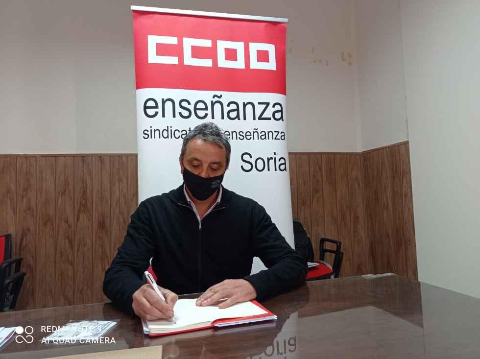 Carlos Lázaro, nuevo secretario de Enseñanza de CC.OO.