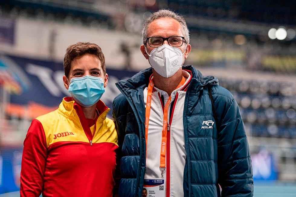 Marta Pérez, a la final del Europeo por tiempos