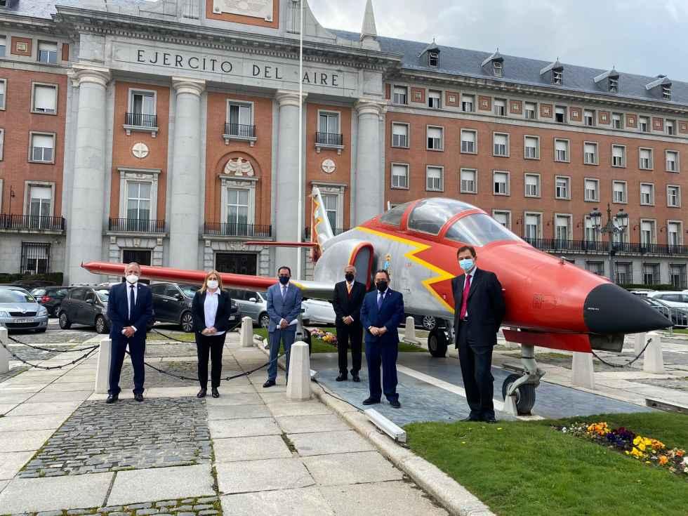El Ejército del Aire aterriza en el A.T.I.
