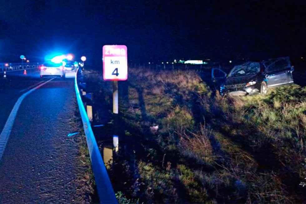 Fallece una mujer en accidente de tráfico en Zamora