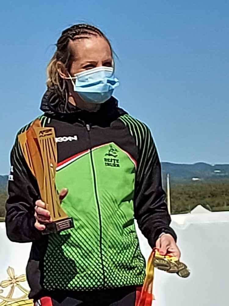 Estela Navascués, campeona de España master