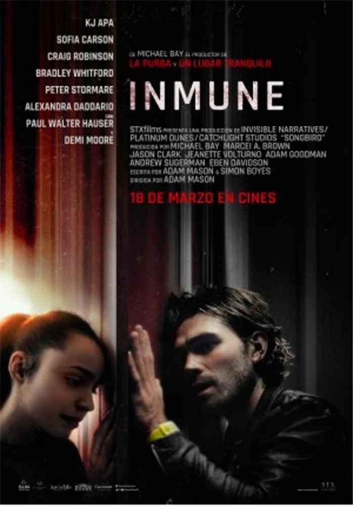 """""""Inmune"""" se estrena en Cines Lara"""