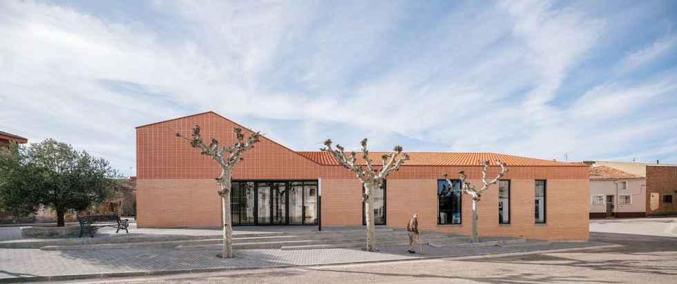 El centro social de Noviercas, finalista en premio europeo