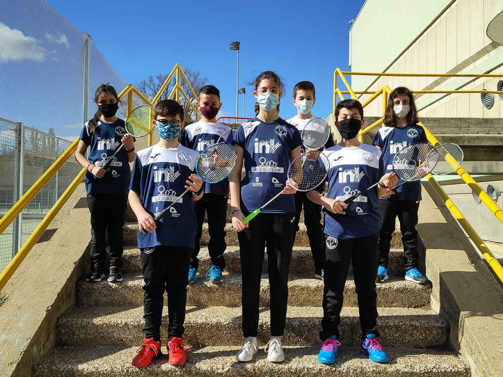 El Club Bádminton Valonsadero regresa a competiciones