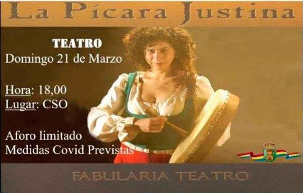 """Teatro en Ólvega con """"La pícara Justina"""""""