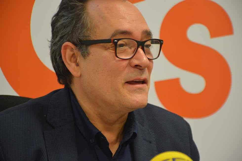 """De Gregorio: """"Acabaré legislatura con Cs en Diputación"""""""